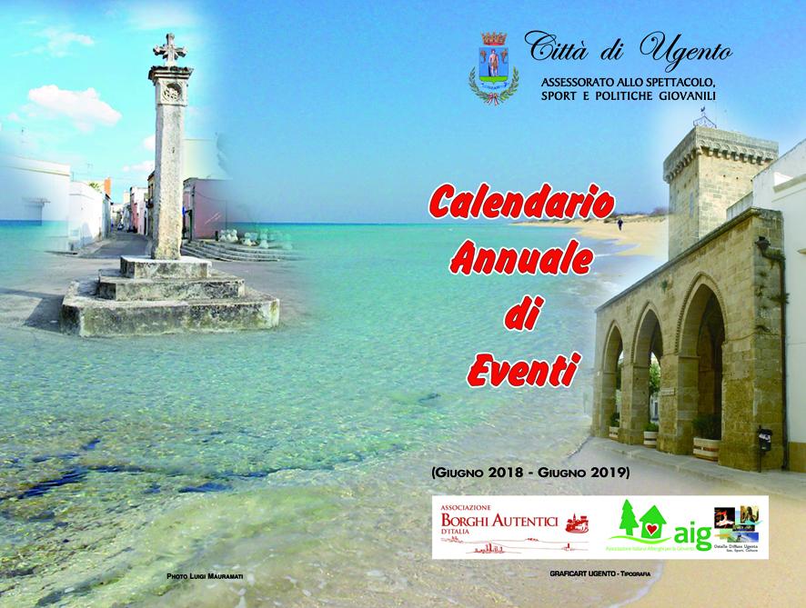 Calendario Mercatini Antiquariato Puglia.Comune Di Ugento Calendario Annuale Di Eventi Giugno 2018